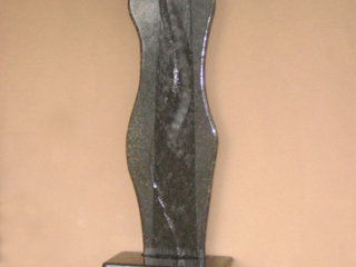 """""""Curves 2007 Commissioned Granite Waterwall. 84"""" tall"""""""
