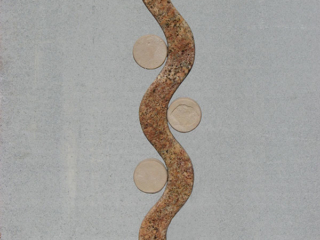 """""""Hither and Yon 2006 Granite, Flagstone. 36"""" x 16"""" x 11"""""""""""