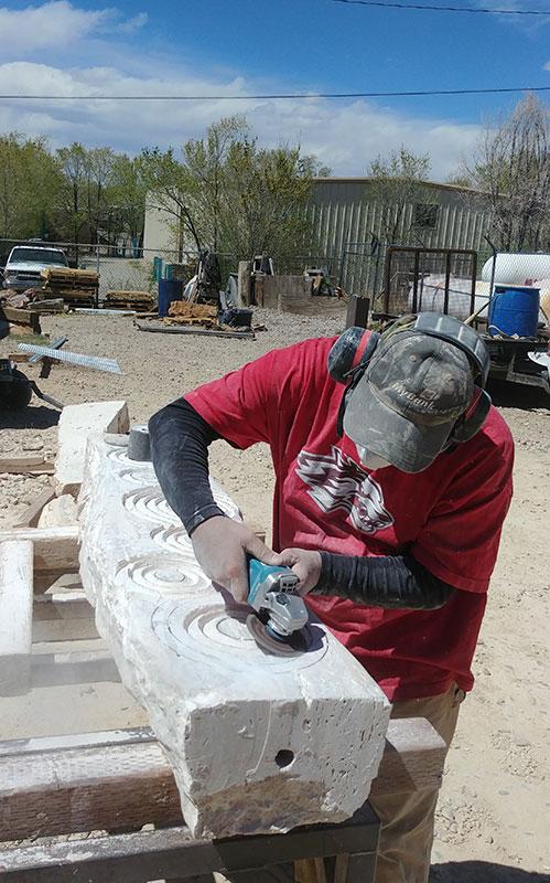 Greg grinding